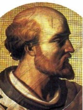 Pope Sylvester II. Image: Public domain, via Wikimedia Commons