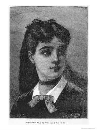 Portrait of Sophie Germain by Auguste Eugene Leray. Image: public domain, via Wikimedia Commons.