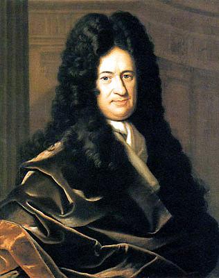 Gottfried Wilhelm von Leibniz. Image: Christoph Bernhard Francke, via Wikimedia Commons.