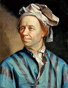 Leonard Euler. Image: public domain, via Wikimedia Commons.