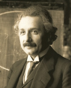 Albert Einstein, 1921. Image: Public domain, via Wikimedia Commons.